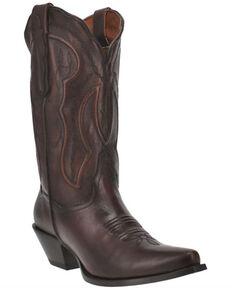 Dan Post Women's Mataya Western Boots - Snip Toe, Brown, hi-res