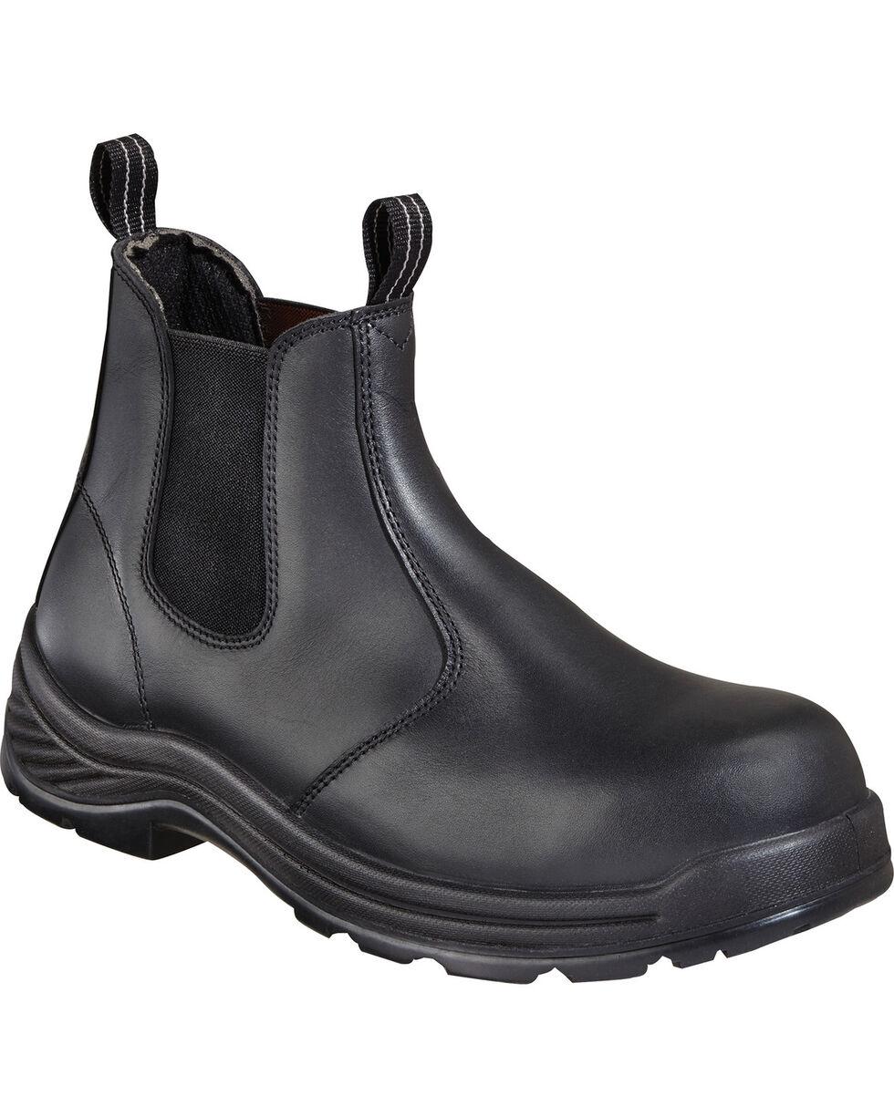 "Thorogood Men's 6"" Quick Release Station Boots, Black, hi-res"