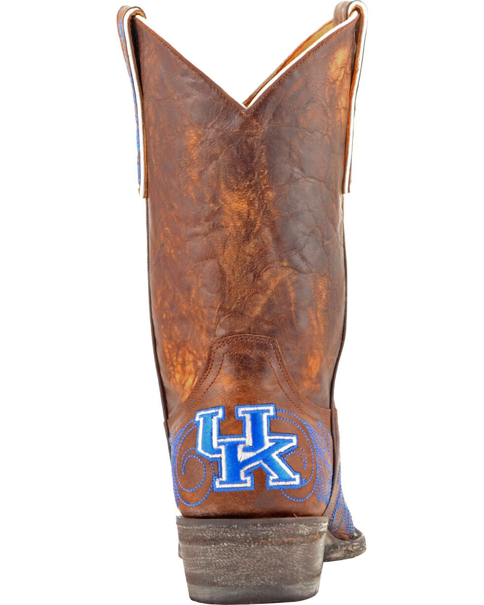 Gameday Boots Women's University of Kentucky Western Boots - Snip Toe, Brass, hi-res
