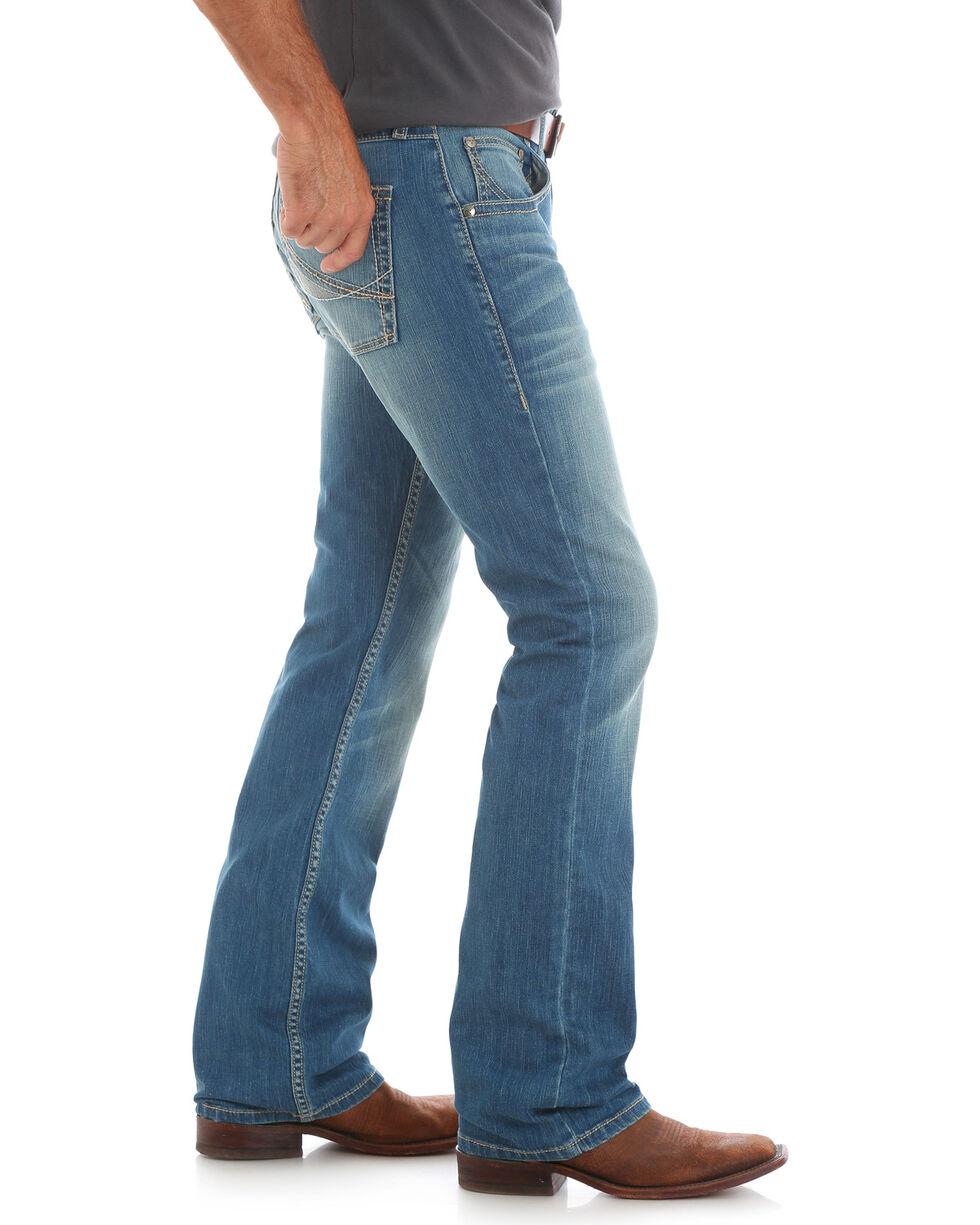 Wrangler 20X Men's No.42 Concord Vintage Boot Cut Jeans, Indigo, hi-res