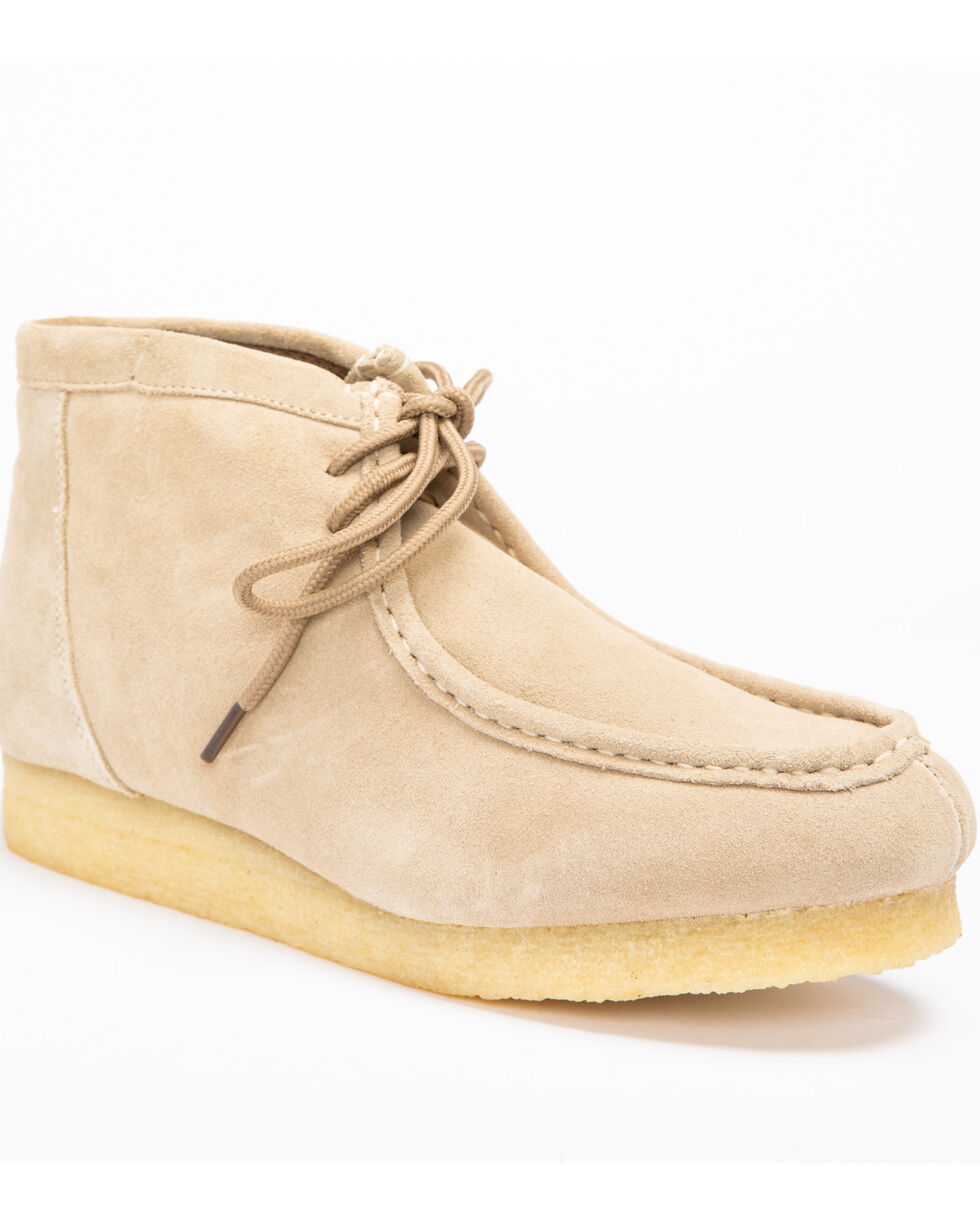 Roper Men's Tan Suede Gum Sole Chukkas, Sand, hi-res