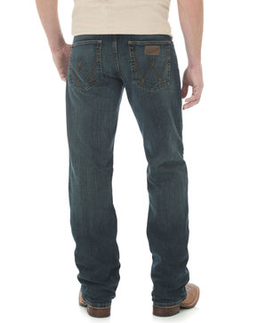 Wrangler 20X Men's Advanced Comfort Root Beer Competition Slim Fit Jeans   , Blue, hi-res