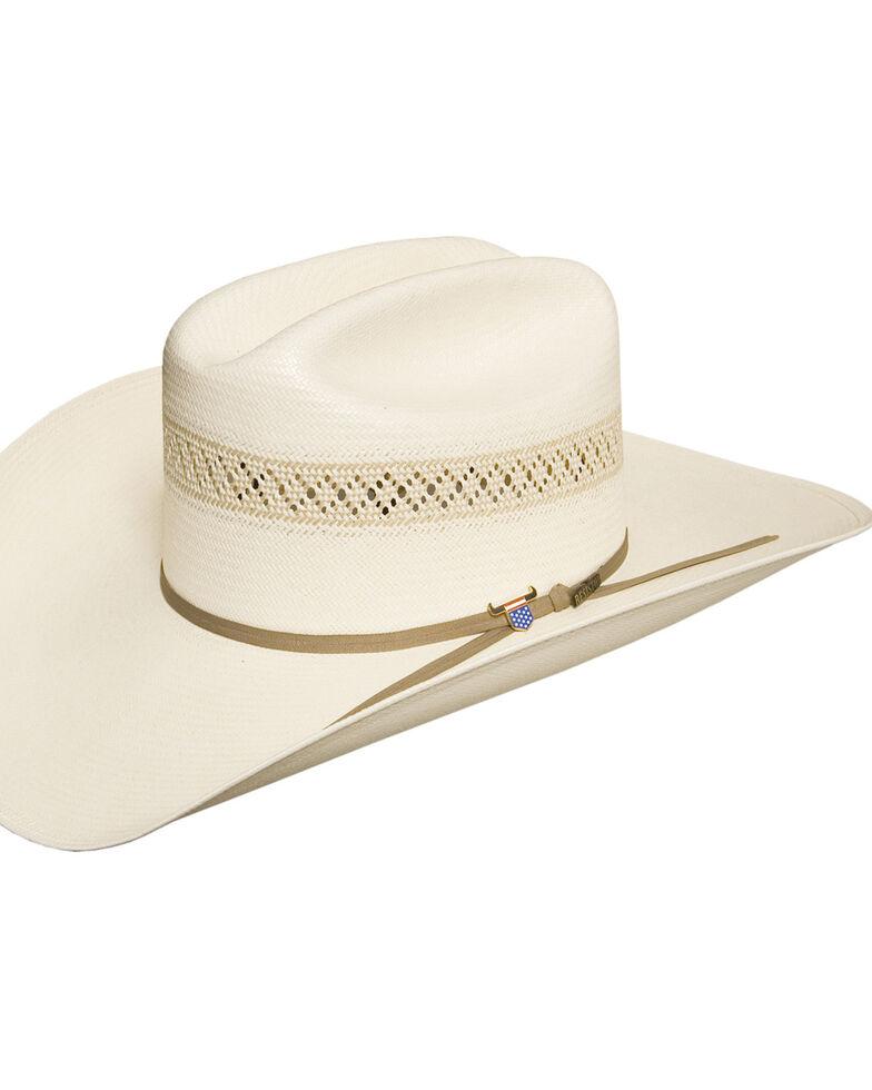 Resistol Men's 10X Wildfire Straw Cowboy Hat, Natural, hi-res
