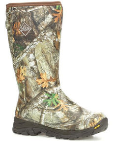 Muck Boots Men's Arctic Ice Highlander Rubber Boots - Round Toe, Camouflage, hi-res