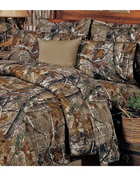 Realtree Camo Twin Sheet Set, Camouflage, hi-res