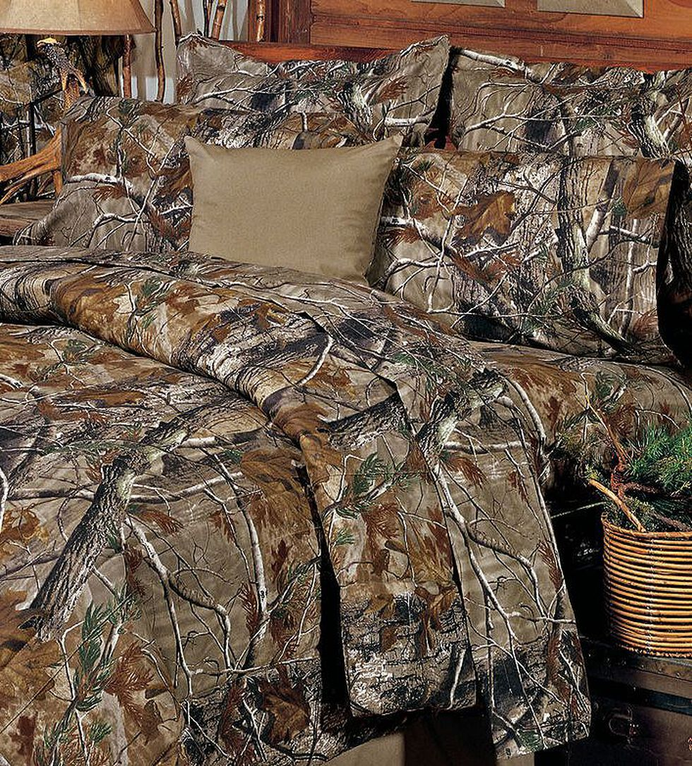 Realtree Camo Full Sheet Set, Camouflage, hi-res