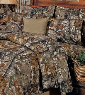 Realtree All Purpose Queen Sheet Set, Camouflage, hi-res