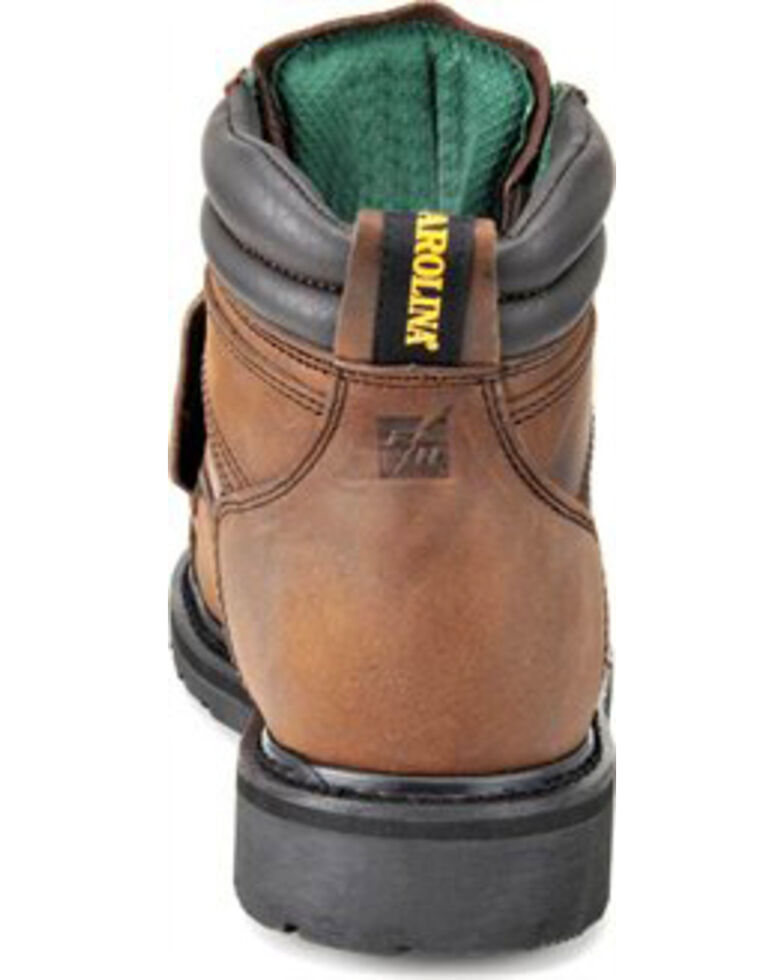 Carolina Men's Dark Brown MetGuard Boots - Broad Toe, Dark Brown, hi-res