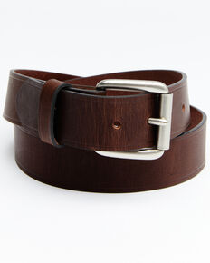 Hawx Men's Heat Crease Work Belt, Brown, hi-res