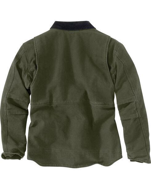 Carhartt Men's Moss Full Swing Armstrong Jacket - Tall , Moss Green, hi-res