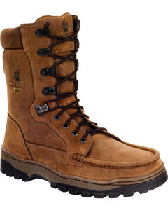 Rocky Men's Outback GORE-TEX Waterproof Boots, Brown, hi-res
