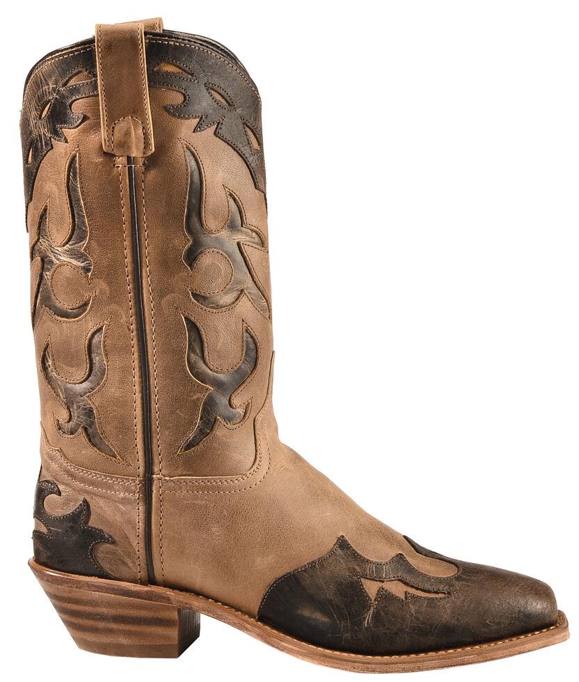 Abilene Boots Women S Distressed Inlay Wingtip Western
