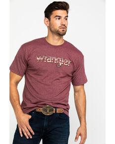 Wrangler Men's Red Aztec Logo Graphic T-Shirt , Red, hi-res
