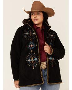 Outback Trading Co. Women's Aviana Jacket - Plus, Black, hi-res