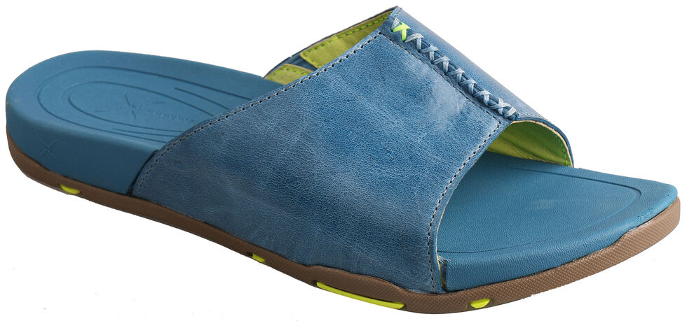 Twisted X Women's Ocean Blue Sandals, Blue Dust, hi-res