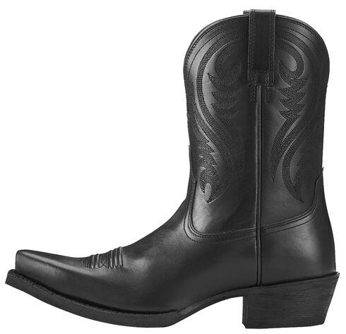 Ariat Willow Short Cowgirl Boots - Snip Toe, Black, hi-res