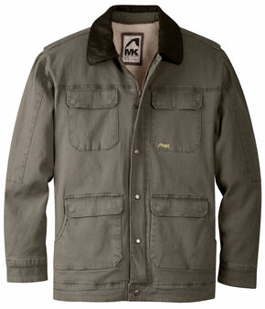 Mountain Khakis Terra Ranch Shearling Jacket, Dark Brown, hi-res