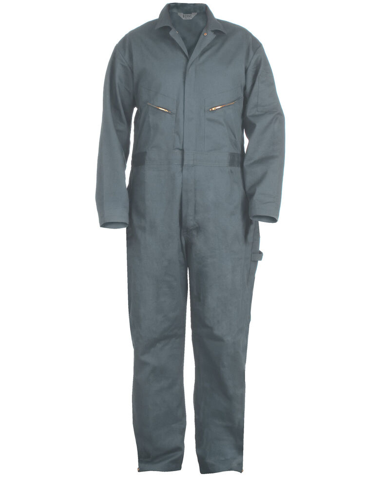 Berne Deluxe Unlined Coveralls - Tall (38 - 54), Blue, hi-res