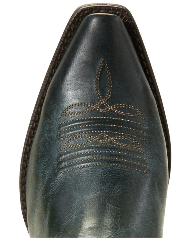 Ariat Women's Lovely Blue Grass Western Booties - Snip Toe, Blue, hi-res