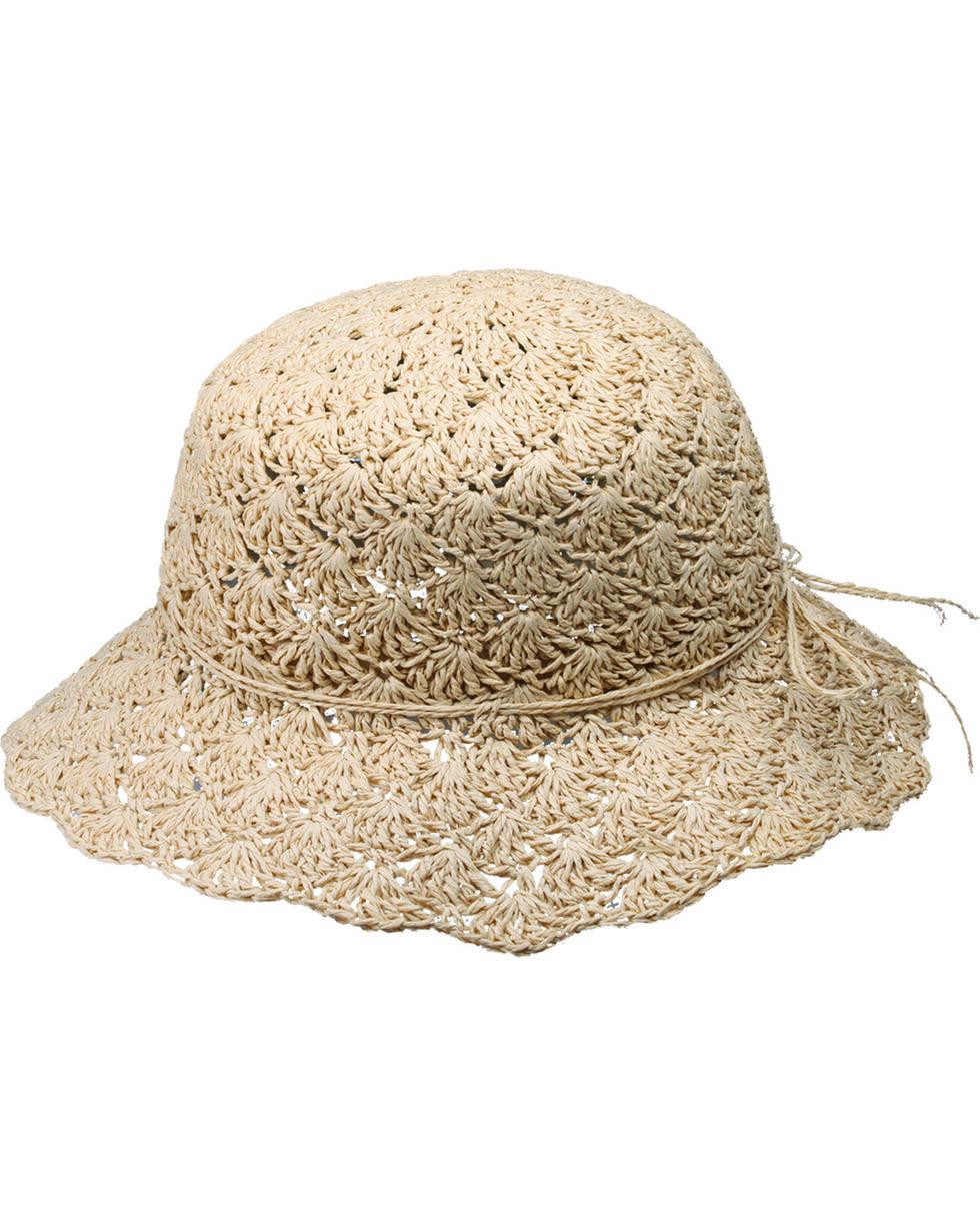 """Peter Grimm Myrna 2 1/2"""" Sun Hat, Natural, hi-res"""