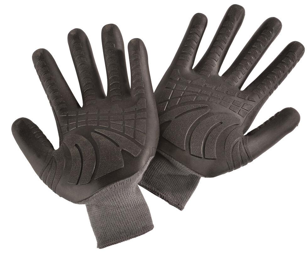 Carhartt Knuckler Knit Work Gloves, Grey, hi-res