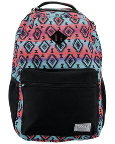 HOOey Recess Aztec Print Backpack, Blue, hi-res