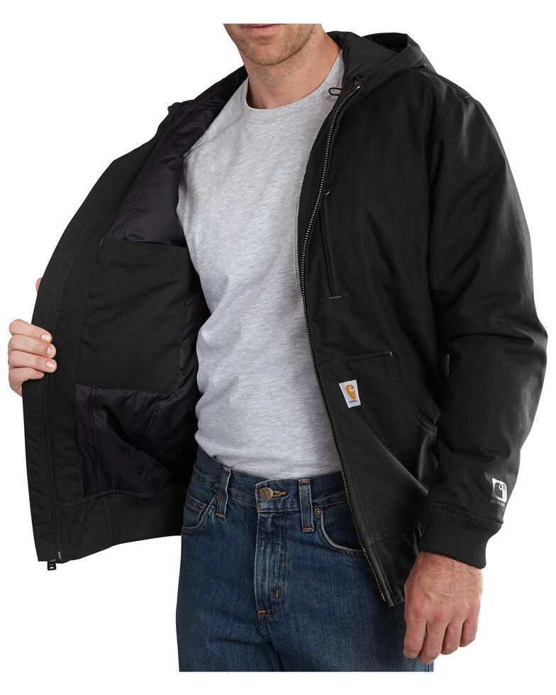 Carhartt Men's Quick Duck Jefferson Active Jacket - Big & Tall, Black, hi-res