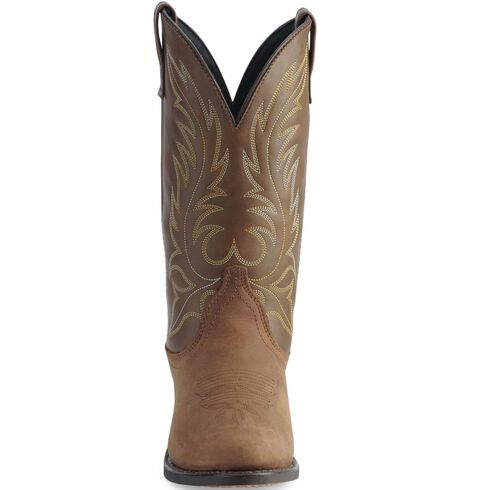 Laredo Tan Kadi Cowgirl Boots - Medium Toe, Tan, hi-res