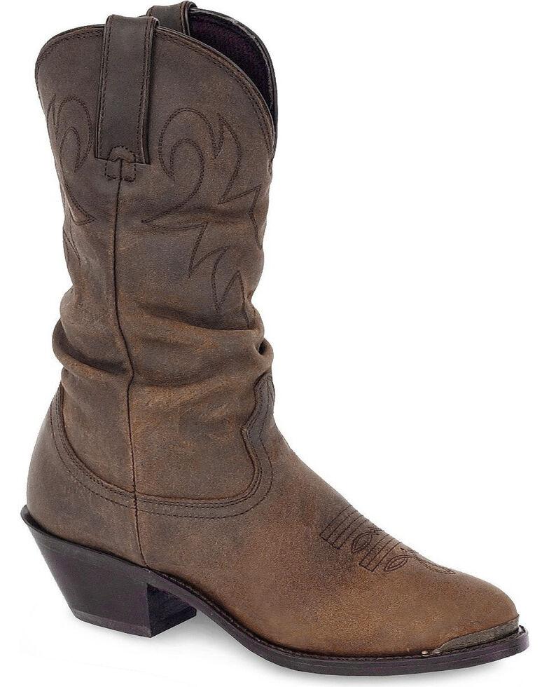 Durango Women's Slouch Cowboy Boots - Medium Toe, Earthtone, hi-res