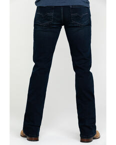 Moonshine Spirit Men's Nightfall Dark Slim Boot Jeans , Indigo, hi-res