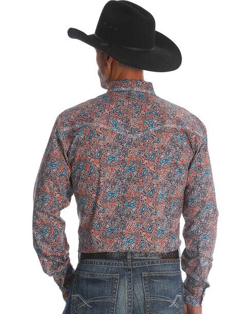 Wrangler 20X Men's Paisley Advanced Comfort Competition Shirt - Tall, Multi, hi-res