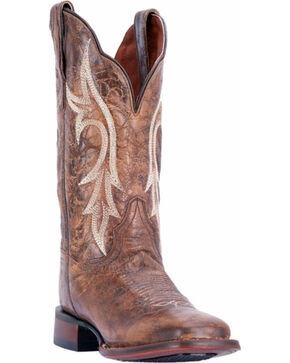 Dan Post Women's Reign Chestnut Cowgirl Certified Western Boots - Square Toe, Chestnut, hi-res