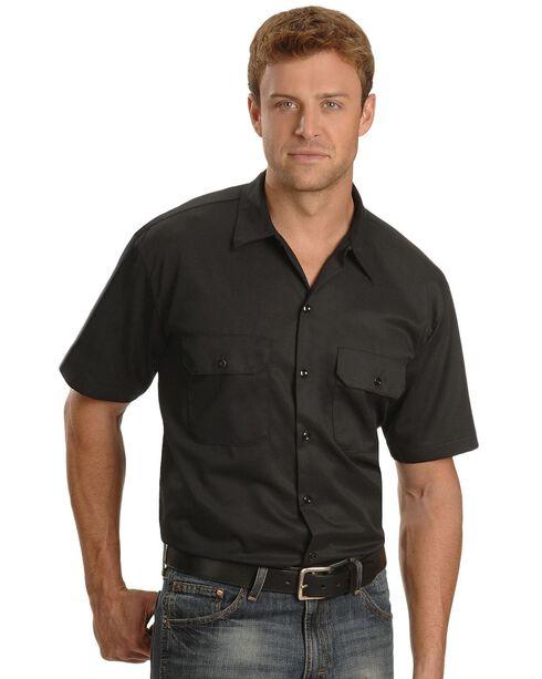 Dickies Short Sleeve Twill Work Shirt - Big & Tall-Folded, , hi-res