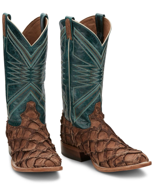 Men's Fish Skin Boots - Sheplers