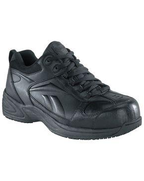 Reebok Women's Jorie Athletic Jogger Work Shoes - Composite Toe, Black, hi-res