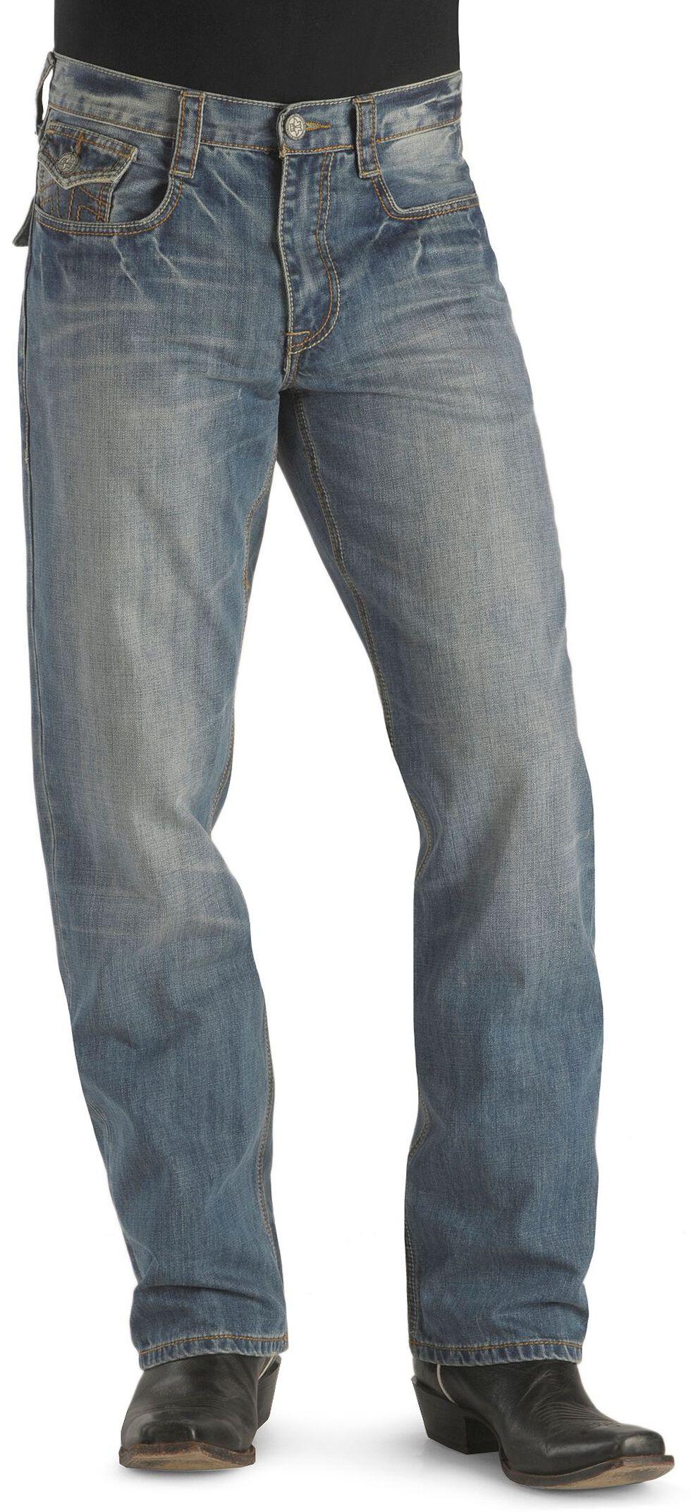 Tin Haul Regular Joe Flap Pocket Jeans, Blue, hi-res