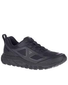 Bates Men's Rush Low Work Shoes - Soft Toe, Black, hi-res