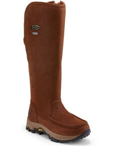 Chippewa Women's Searcher II Waterproof Snake Boots - Soft Toe, Brown, hi-res