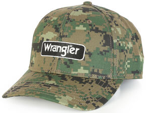 Wrangler Camo Patch Cap, Camouflage, hi-res