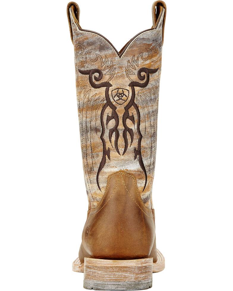 Ariat Tan Mesteno Cowboy Boots - Square Toe, Tan, hi-res