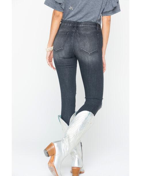Miss Me Women's Dark Lasting Impression Mid-Rise Jeans - Skinny , Indigo, hi-res