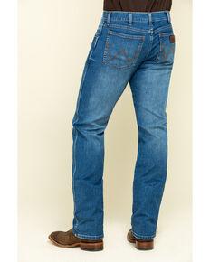 Wrangler Retro Men's San Benito Stretch Slim Straight Jeans , Blue, hi-res