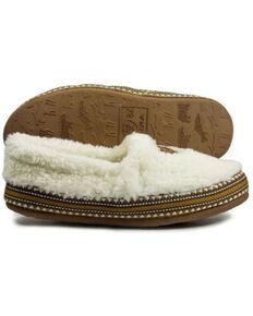 Ariat Women's Appaloosa Snuggle Slippers, Cream, hi-res