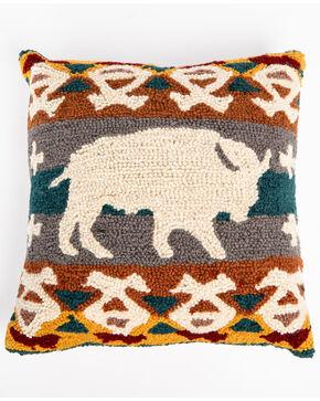 BB Ranch Buffalo Hook Pillow, Multi, hi-res