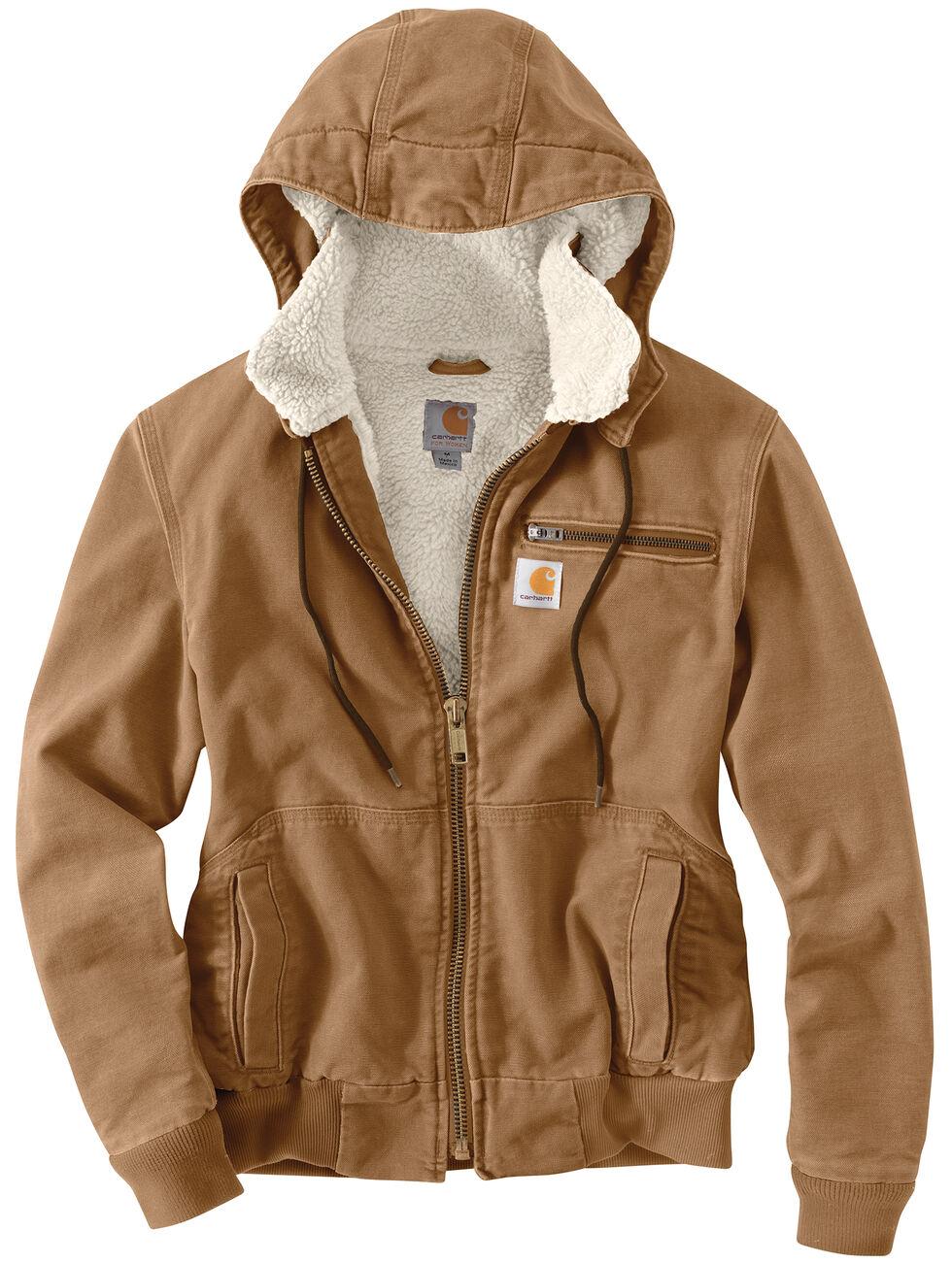 Carhartt Weathered Duck Wildwood Jacket, Brown, hi-res