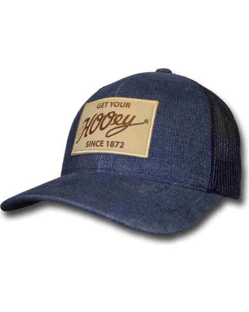 "Hooey Men's Blue ""Tonic"" Patch Trucker Hat , Blue, hi-res"