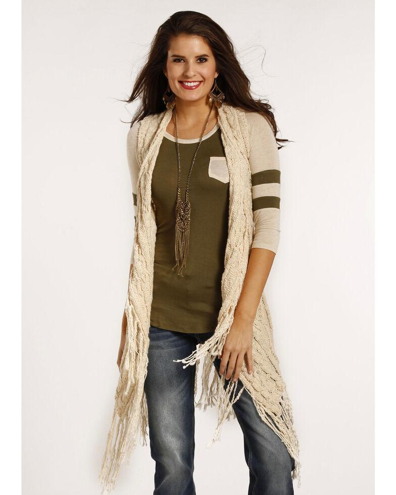 acfb2eb21 Panhandle Women s Slim Fringe Sweater Vest