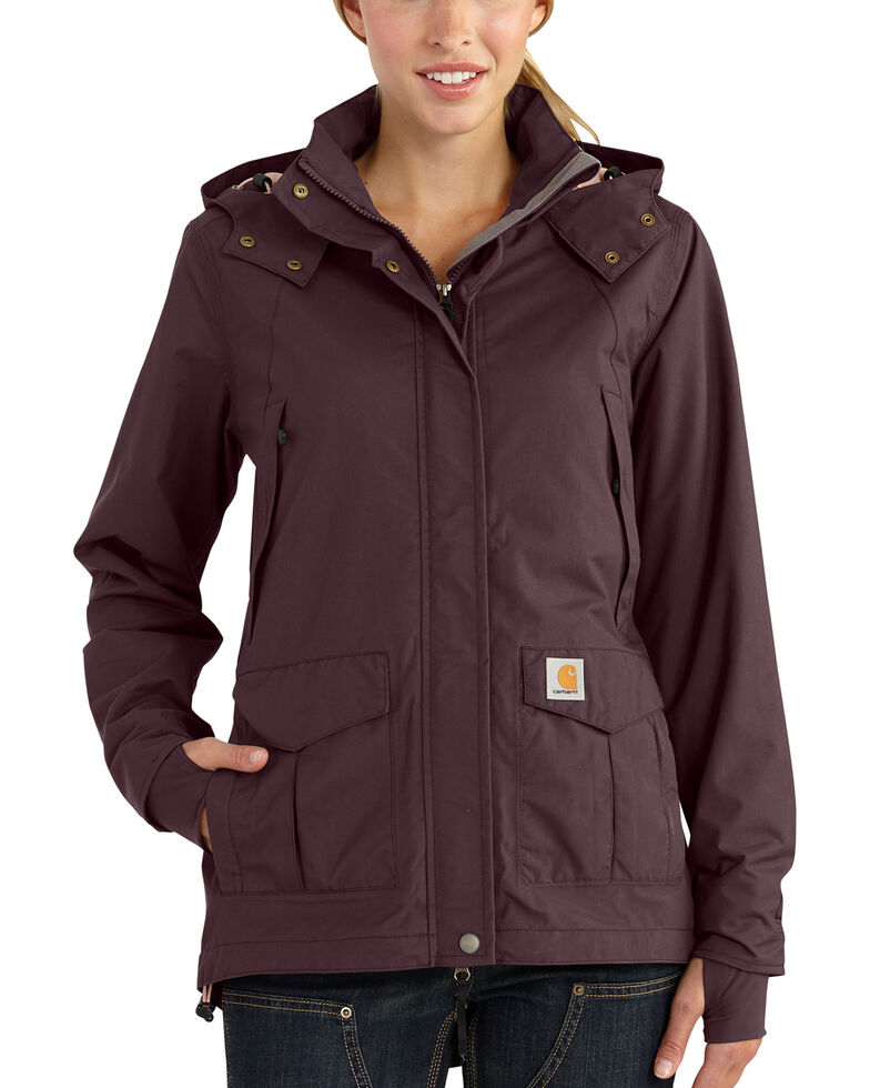 Carhartt Women's Shoreline Jacket, Wine, hi-res