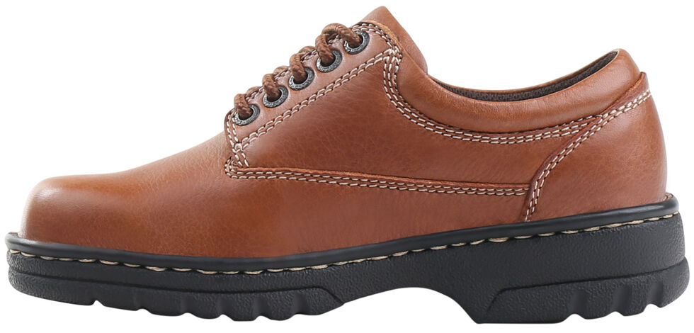 Eastland Women's Tan Plainview Oxfords , , hi-res
