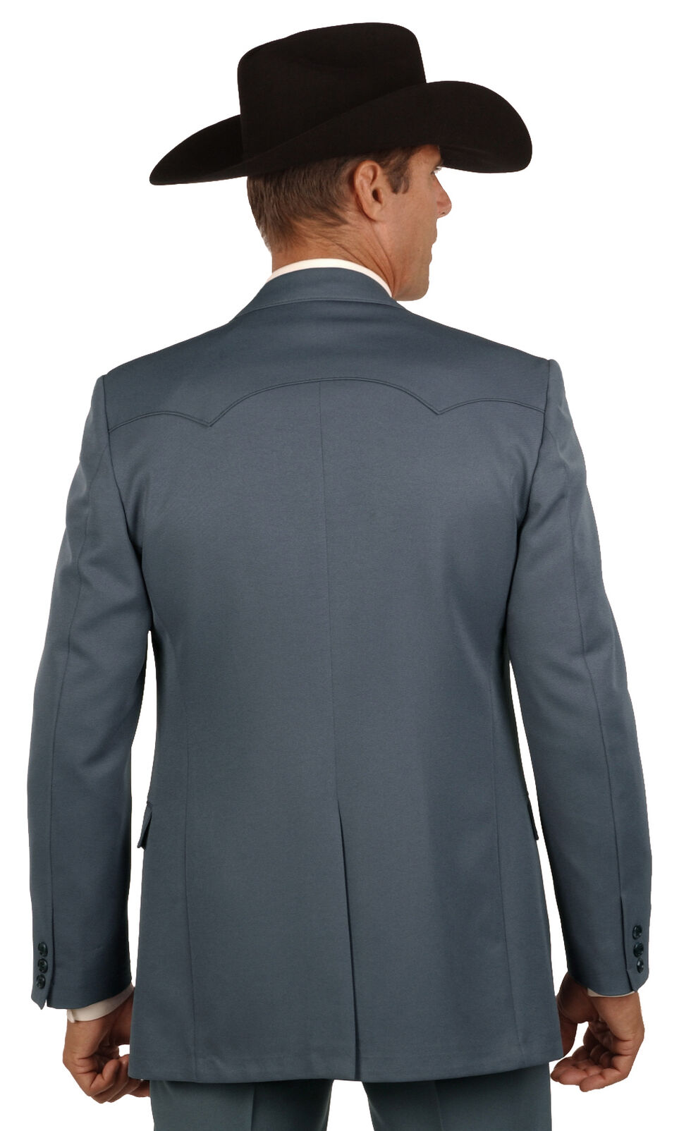 Circle S Lubbock Suit Coat - Big & Tall, Gunmetal, hi-res